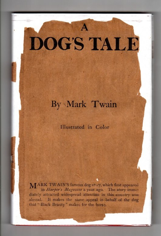A Dog's Tale - front dust jacket
