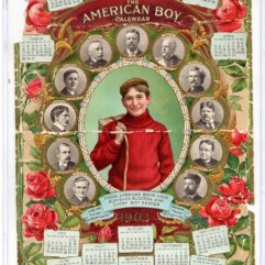 American Boy Calendar 1903