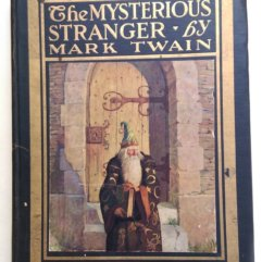 Mark Twain Mysterious Stranger front cover