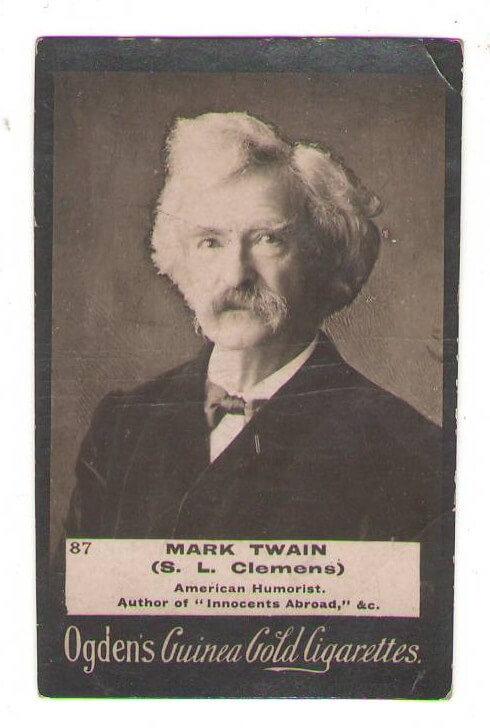 Mark Twain Tobacco Card 87