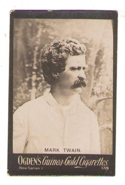 Mark Twain Tobacco Card 339
