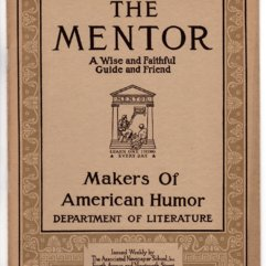 The Mentor, Makers of American Humor, includes Mark Twain