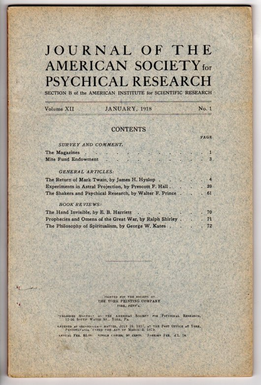 Psychical Research