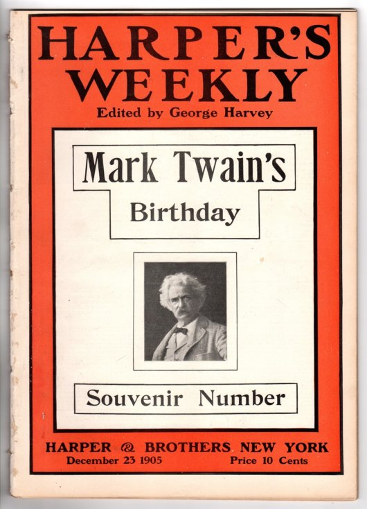 Harpers Mark Twain 70th Birthday Special