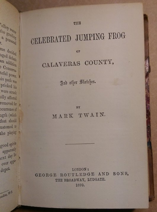 Jumping Frog 1870 Marbled