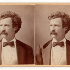 Mark Twain Gurney Stereoview