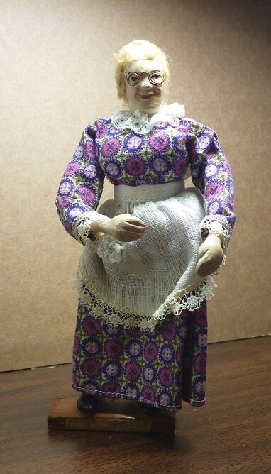 Courtney doll of Aunt Polly