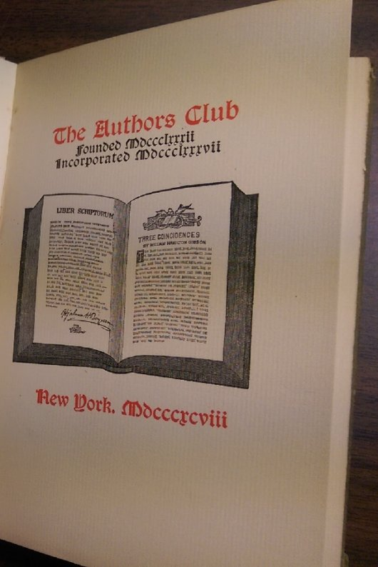 Manual of Authors Club