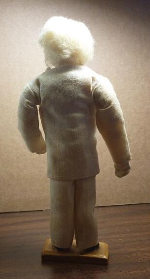 Mark Twain Courtney Doll