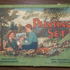 Tom Sawyer Painting Set