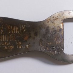 Mark Twain Hotel Bottle Opener