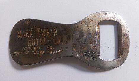 Mark Twain Hotel Bottle Opener