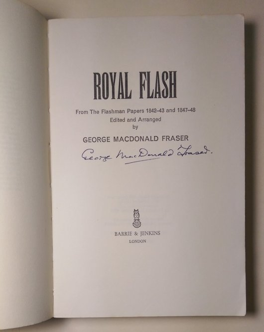 Royal Flash Uncorrected Proof