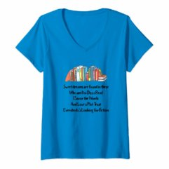 Sweet Dreams are Found in These - book related shirt design