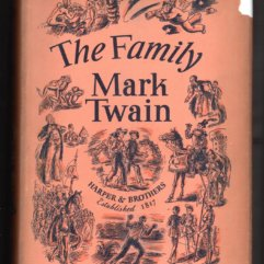 The Family - Mark Twain - dust jacket