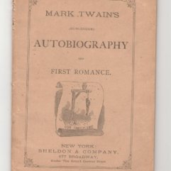 Mark Twain Autobiography wraps