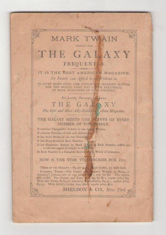 Mark Twain Autobiography wraps