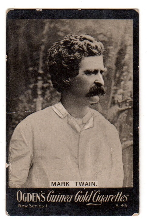 Guinea Gold B45 Mark Twain tobacco card
