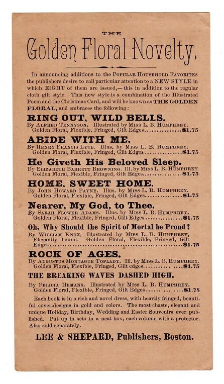 Dickens Handbill