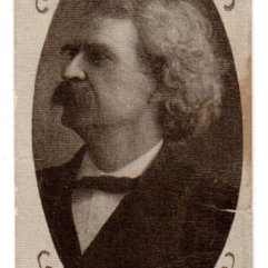 Mark Twain - Havelock trade card