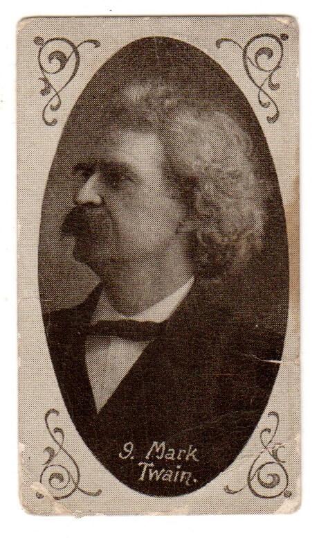 Mark Twain - Havelock trade card