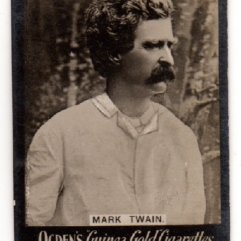 Mark Twain Tobacco Card