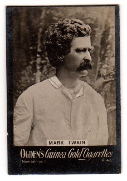 Mark Twain Tobacco Card