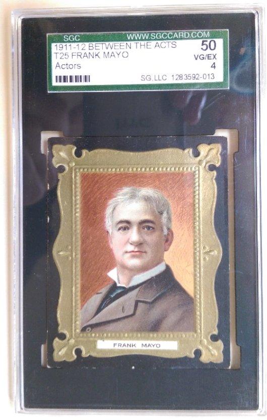 Frank Mayo trade card