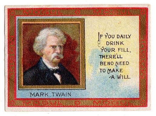 Mogul Mark Twain Quote Let All