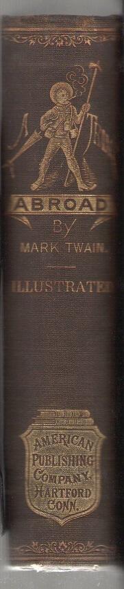 Mark Twain - A Tramp Abroad - spine
