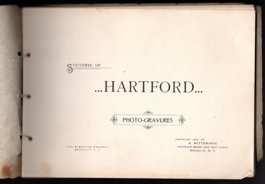 Souvenirs of Hartford