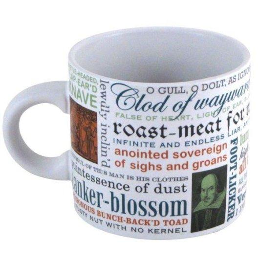 Shakespeare Insults Mug