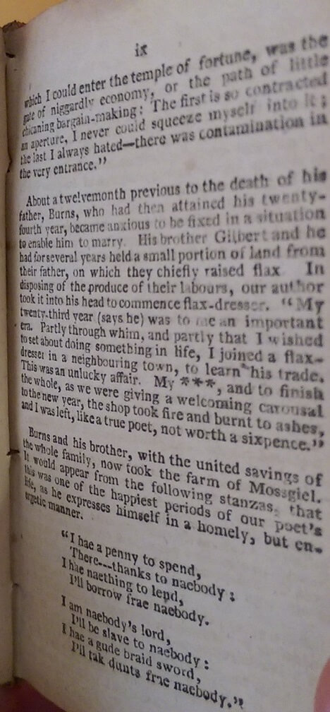 Robert Burns selected pages