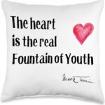 Twain Quote – The Heart is the True Fountain of Youth